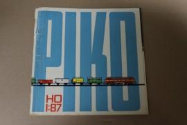 Piko catalogus HO 1966